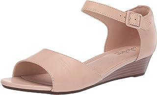 Clarks 女士 Abigail Jane 坡跟凉鞋