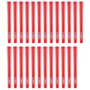 PURE Grips P2 红色 25 件高尔夫握把套装(