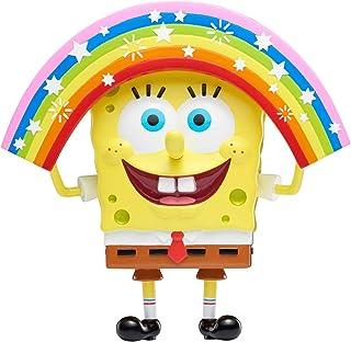 SpongeBob SquarePants | Masterpiece Memes 系列 | 6 英寸可收藏人偶 Child Rainbow Spongebob 混合
