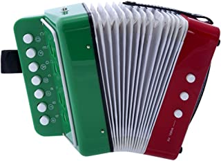 D'Luca Child Button Accordion RWG