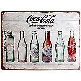 Nostalgic Art 23207 可口可乐瓶,时间轴锡标志 30 x 40 cm