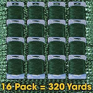Needloft 工艺线 Cottage Mills 出品 Metallic Green 04 16-Pack 95063