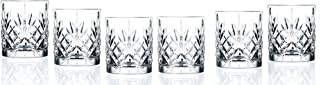 RCR Crystal Melodia Collection Double Old Fashioned Glass Set
