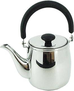 宫崎製作所带不锈钢茶壶茶藤蔓 黒 0.4L