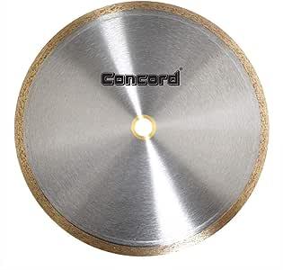 Concord 刀片 10.16 cm 连续轮缘钻石瓷砖刀片 9-Inch CRS0910D