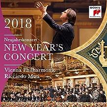 【现货】【中图音像】进口CD:2018年维也纳新年音乐会/里卡尔多.穆蒂 NEW YEAR'S CONCERT 2018/Riccardo Muti(2CD)