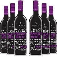 ROSEMOUNT 奔富同门 若诗庄园 佳肴系列卡本内梅洛红葡萄酒整箱装 750ml*6瓶(澳洲进口红酒)