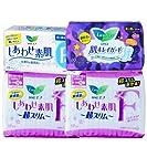 KAO 日本花王 卫生巾组合套装 透气轻薄F系列敏感肌日夜用70片(进口)(特卖)