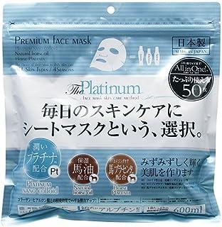 進製作所 Premium Face Mask 面膜 Platinum 50片