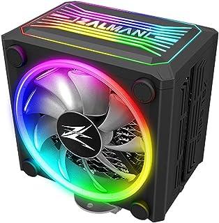 Zalman CNPS 16x,Real RGB LED CPU 散热器,4D *瓦楞式鳍片设计,120mm,适用于 Intel 和 AMD