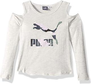 PUMA Little Girls' Cold Shoulder T-Shirt