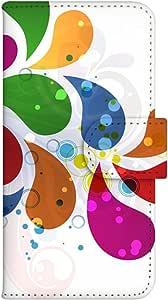 智能手机壳 手册式 对应全部机型 印刷手册 wn-610top 套 手册 图形艺术 UV印刷 壳WN-PR061448-MX AQUOS Xx2 502SH B款