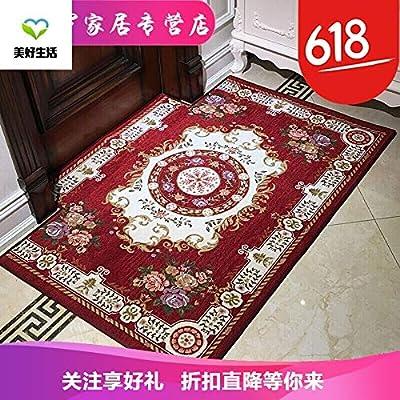 定制欧式地毯入户门地垫进门门口客厅门厅门垫脚垫地板垫子家用930深