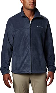 Columbia 哥伦比亚 男式 Steens Mountain 全拉链2.0柔软抓绒夹克, Collegiate Navy, X-Large