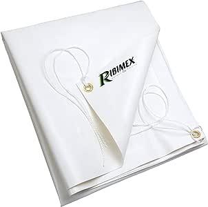 Ribiland 4534 PVC 防水布 5 x 8 米 650 g/m2 白色