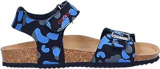 Geox 健乐士 J New Storm Boy A Peeptoe男童凉鞋 Blau (Navy C4002) 36 EU