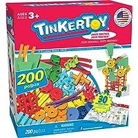 Tinkertoy 搭建玩具套装  30模型,200 零部件