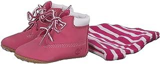 Timberland 婴儿靴和帽子套装
