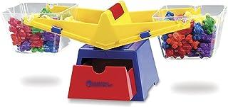 Learning Resources 玩具秤 通过这种坚固的斗式秤(包括砝码和计数器),探索体积并比较固体和液体