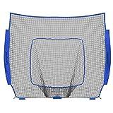 ChampionNet 棒球/垒球 7 英尺 x 7 英尺净替换用通用适配蝴蝶结风格网,球队颜色(仅净)