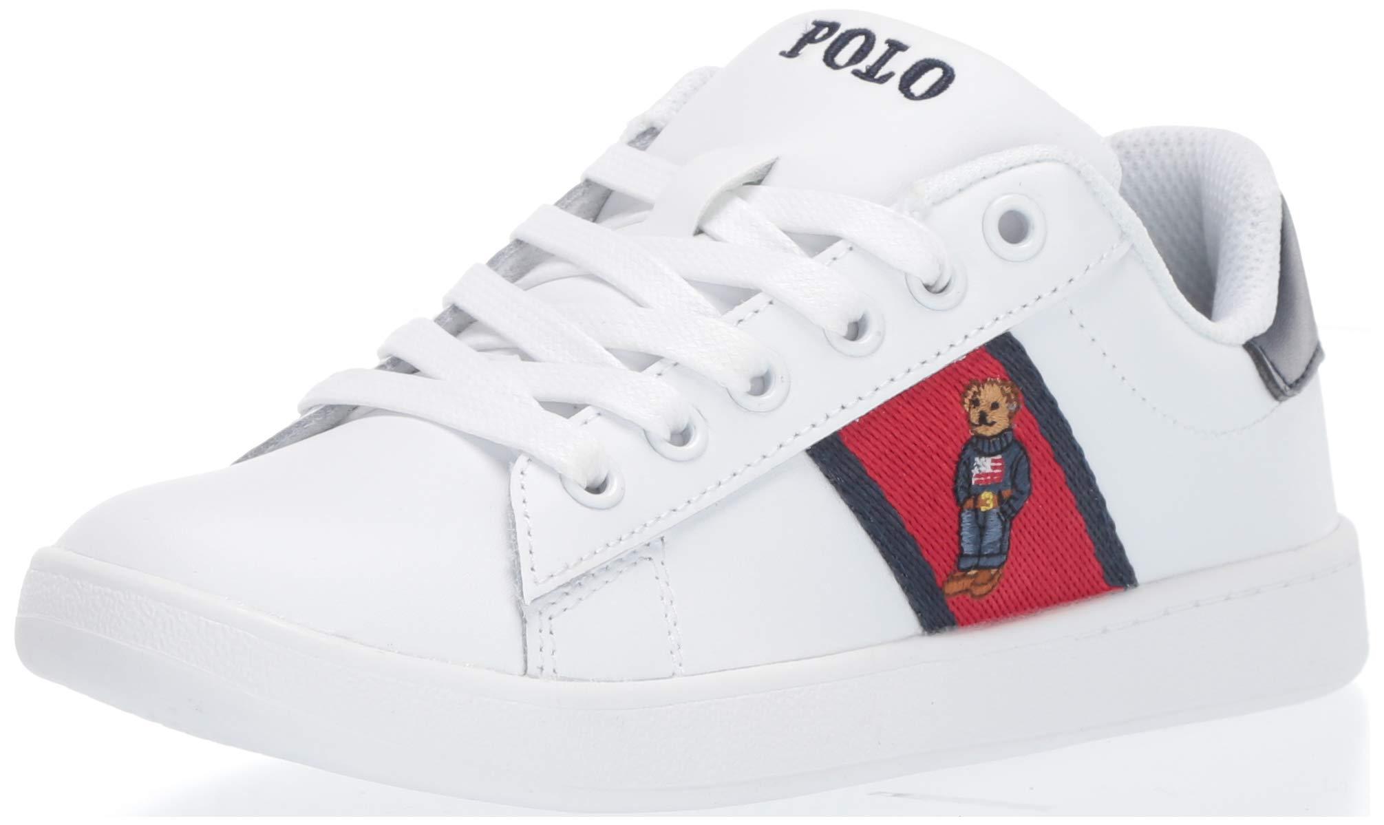 Polo Ralph Lauren 男女通用 Quilton Bear 儿童运动鞋