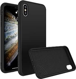 RHINOSHIELD [纯色套装]手机壳/套适用于 iPhone X 经典黑色