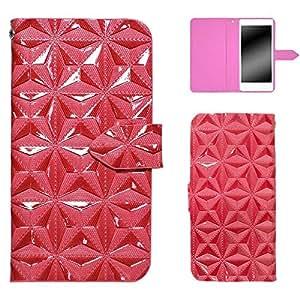 whitenuts 保护壳 手册式 3D钻石WN-OD129663 3_ Galaxy S8 SCV36 粉色