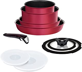 IH 紅寶石/優質 鍋組 ルビー フライパン 鍋 9點 セット