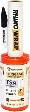 Cloudz Rhino Wrap - 弹力行李箱 橙色 均码