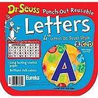Eureka 课堂装饰字母 - 苏斯博士斑点