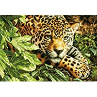 Dimensions Needlecrafts Counted Cross Stitch, Leopard in Repose
