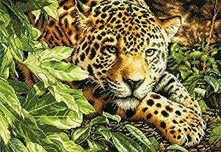 Dimensions Needlecrafts Counted Cross Stitch, Leopard in Repose