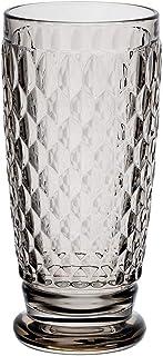 Villeroy & Boch 德国唯宝 波士顿彩色长饮玻璃杯,400毫升,水晶玻璃,灰色