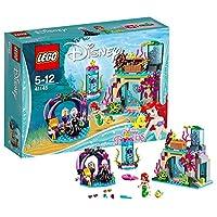 LEGO 乐高  拼插类 玩具  Disney Princess 迪士尼公主系列 爱丽儿与魔法咒语 41145 5-12岁