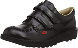Kickers Kick Lo Velcro,中性儿童学鞋