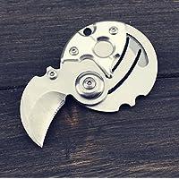 【买一送一,实发2个】HLAKER 禾莱克 创意袖珍硬币刀 钱币刀便携钥匙刀圆形工具刀 EDC-09