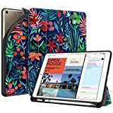 Fintie iPad Air 10.5英寸(约26.7厘米)2019 / iPad Pro 10.5英寸(约26.7厘米)2017 - [SlimShell]轻质柔软 TPU 后部保护智能支架盖,自动唤醒/*