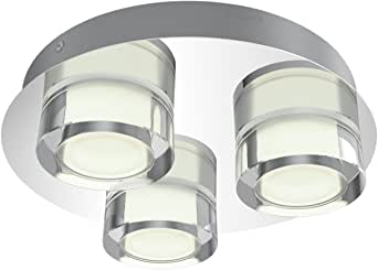 Philips 飞利浦 myBathroom LED 聚光灯 3flg。 3417411P0, 1500lm, 铬, 浴室灯 银 3-flg. 915005492401