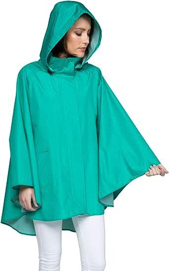 女式防雨夹克 - 轻量雨衣 - 12 种风格(防水雨衣)