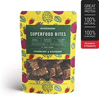 The Protein Works Superfood Bites, *,纯素