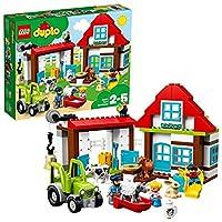 LEGO 乐高  拼插类 玩具  DUPLO 得宝系列 乐趣开心农场 10869 2-5岁 婴幼
