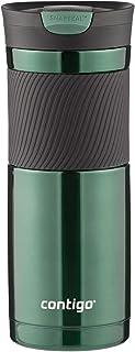 Contigo 康迪克 SNAPSEAL Byron 真空隔热不锈钢旅行杯,20盎司/约591毫升,Grayed Jade灰绿色