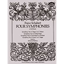 Four Symphonies in Full Score (Dover Music Scores) (English Edition)