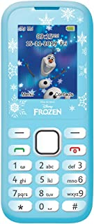 Lexibook Disney 冰雪奇缘 Elsa 功能手机,双 SIM,定制内容,蓝牙,随附免提套件,蓝色,GSM20FZ