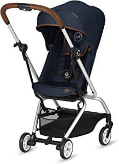 CYBEX Gold Eezy S Twist Compact Pushchair, 360° Rotatable Seat Unit, Ultra-Compact, From Birth to 17 kg (approx. 4 years),...