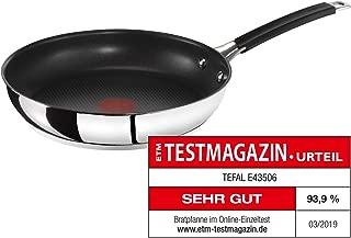 Tefal 特福 平底鍋Jamie Oliver名廚系列 法國原產E43506 28cm Prometal Pro 六層不占涂層煎鍋