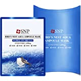SNP 海洋燕窝补水安瓶精华面膜25ml*10片装 深层补水保湿(韩国品牌 )