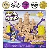 Kinetic Sand - 沙滩沙王国玩具套装,含 3 磅沙滩沙,适合 3 岁及以上儿童