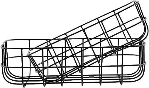House Doctor Simply M 储物篮,均码 黑色 24 x 16 cm Sp0374