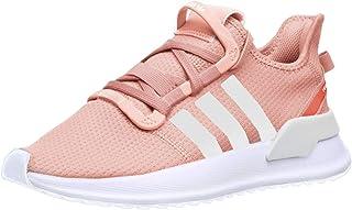 adidas 阿迪达斯 Originals 儿童 U_Path 跑鞋 Glow Pink/White/Hi-res Coral 12 M US 儿童